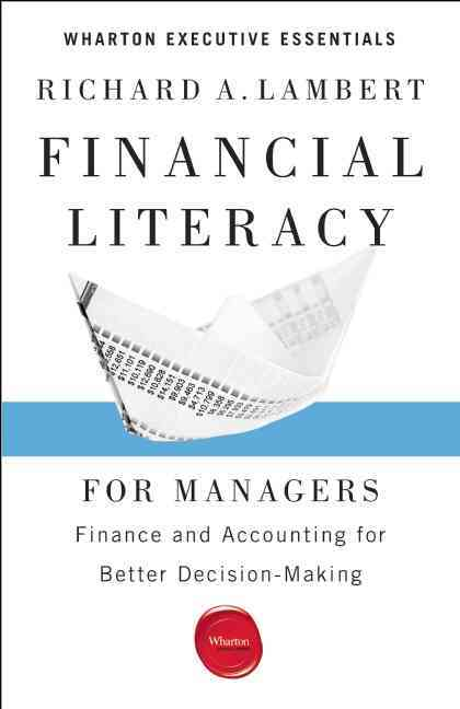 Financial Literacy for Managers By Lambert, Richard A.
